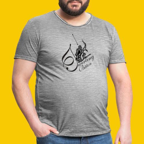 twirling b 2 - T-shirt vintage Homme