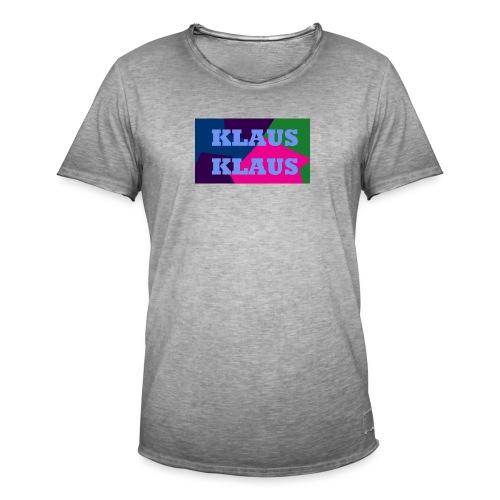 klaus klaus - Men's Vintage T-Shirt