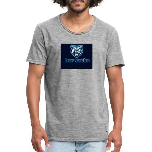 20190830 211834 - Männer Vintage T-Shirt