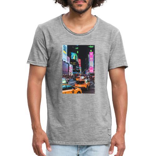 New-York - T-shirt vintage Homme