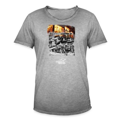 Food Worker Down Under - Männer Vintage T-Shirt
