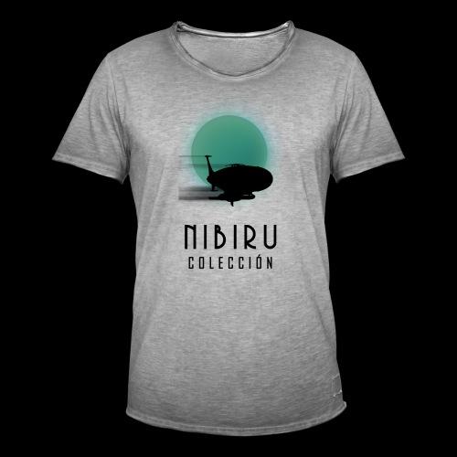 NibiruLogo - Camiseta vintage hombre