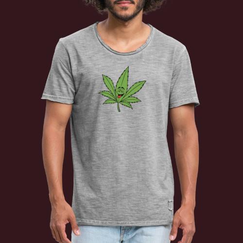 Weed - T-shirt vintage Homme