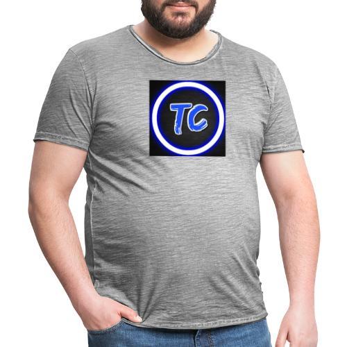 toxy clan - Vintage-T-skjorte for menn