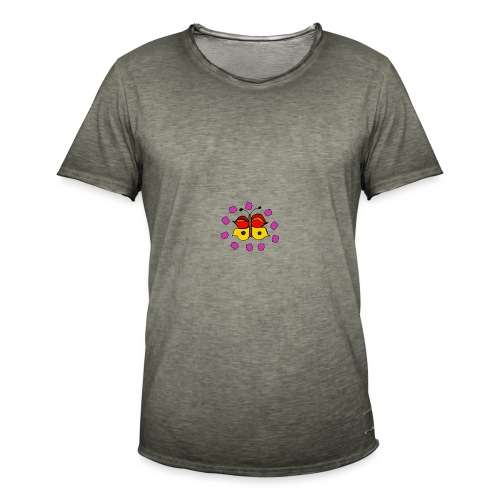Butterfly colorful - Men's Vintage T-Shirt