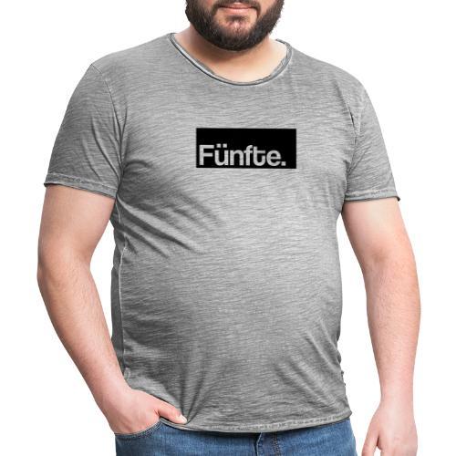 Fünfte. Boxed - Männer Vintage T-Shirt