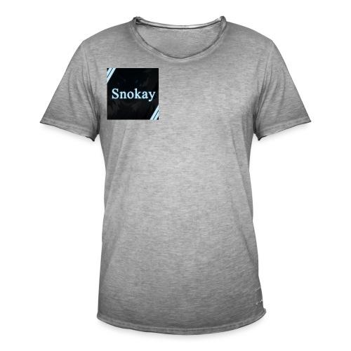 Snokay - T-shirt vintage Homme