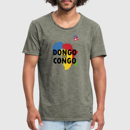 dongo from congo - Herre vintage T-shirt