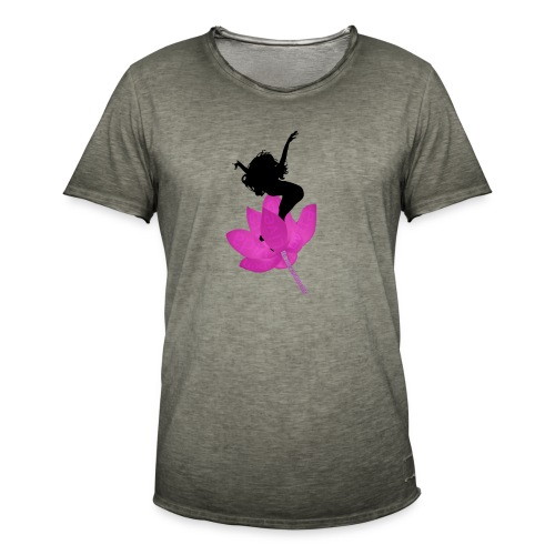 Jump life - Camiseta vintage hombre