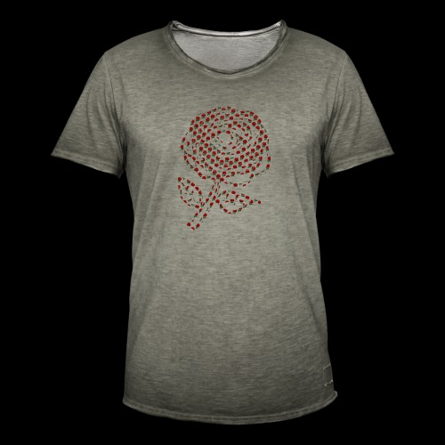 Rose aus Rosen - Männer Vintage T-Shirt