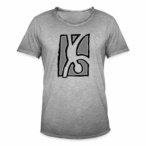 Capoeira: Hand stand - Men's Vintage T-Shirt
