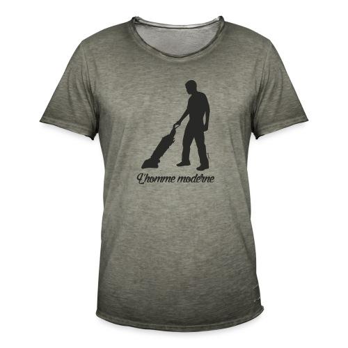 Homme moderne (F) - T-shirt vintage Homme