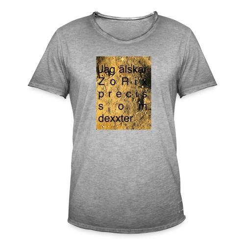 jag älskar dexxter - Vintage-T-shirt herr