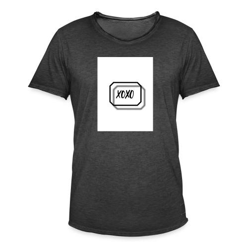xoxo - Männer Vintage T-Shirt