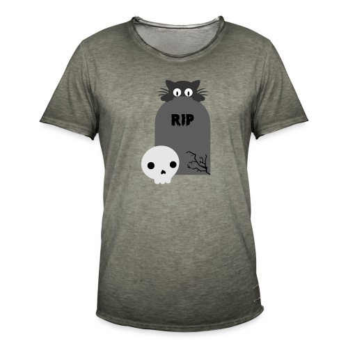 Dark But Cute - Men's Vintage T-Shirt
