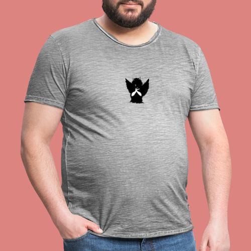 Dark evil - T-shirt vintage Homme
