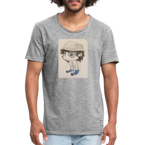 la vida es bella - Camiseta vintage hombre