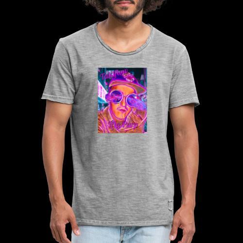 Lila Purp Merch - Männer Vintage T-Shirt