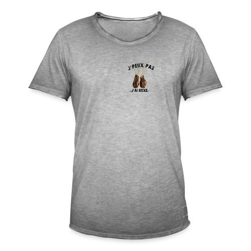 J'peux pas j'ai boxe ! - T-shirt vintage Homme