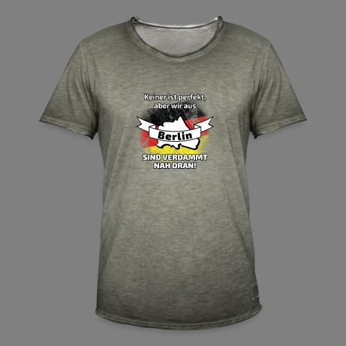 Perfekt Berlin - Männer Vintage T-Shirt