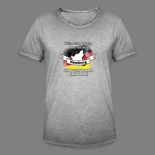 Perfekt Hamburg - Männer Vintage T-Shirt