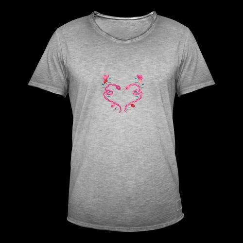 Coeur de serpents - T-shirt vintage Homme