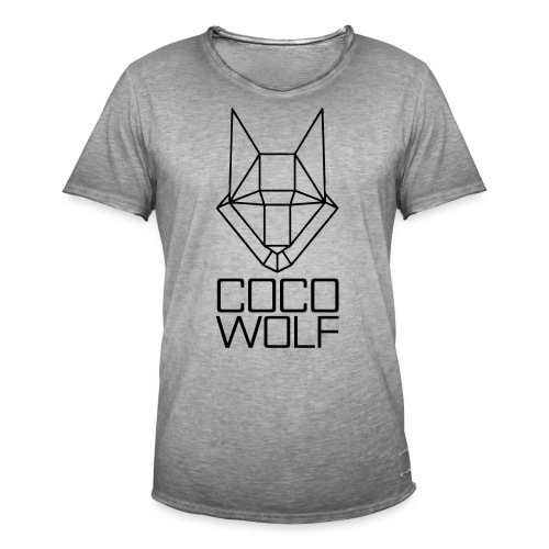 COCO WOLF - Männer Vintage T-Shirt