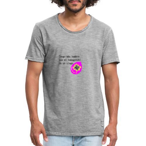 tamagotchi - Camiseta vintage hombre