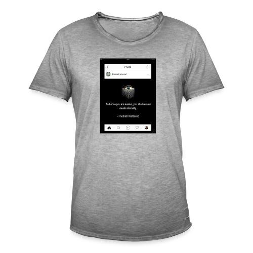 81F94047 B66E 4D6C 81E0 34B662128780 - Men's Vintage T-Shirt