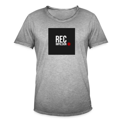 REC - T-shirt vintage Homme