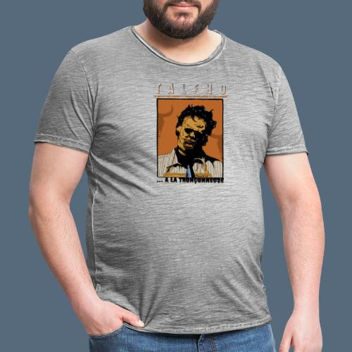 Collection Sandy.M 2021/2022 (Leatherface) - T-shirt vintage Homme