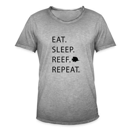 Eat Sleep Reef Repeat - Men's Vintage T-Shirt