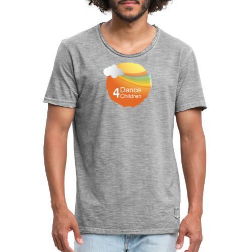 Dance4Children Logo - Mannen Vintage T-shirt