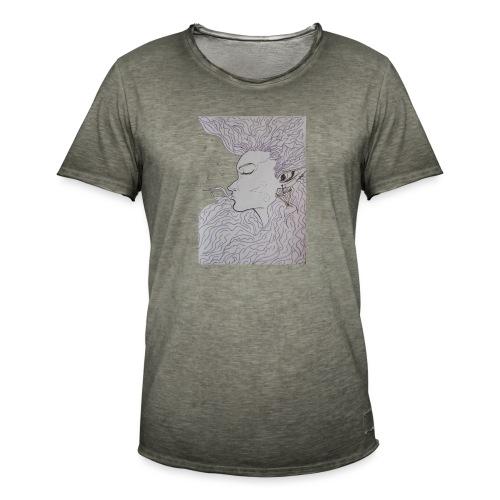 sava - Camiseta vintage hombre