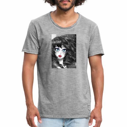 Comic girl - Camiseta vintage hombre