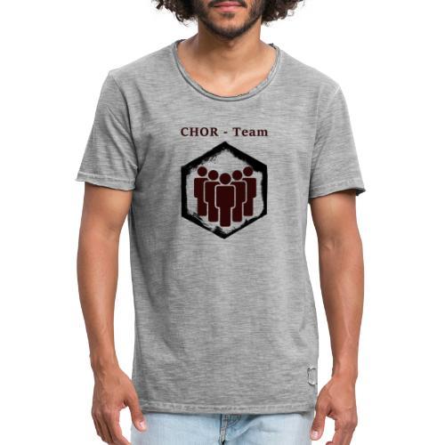 ChorTeam - Männer Vintage T-Shirt