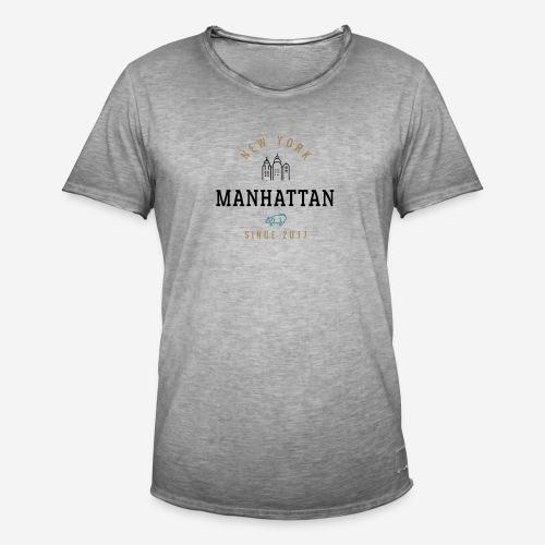 NEW YORK - MANHATTAN - Maglietta vintage da uomo