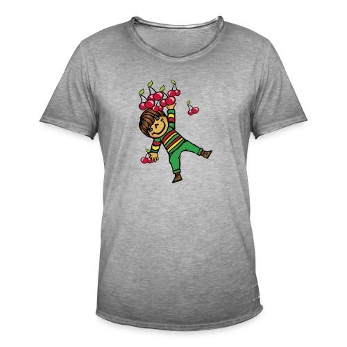 08 kinder kapuzenpullover hinten - Männer Vintage T-Shirt