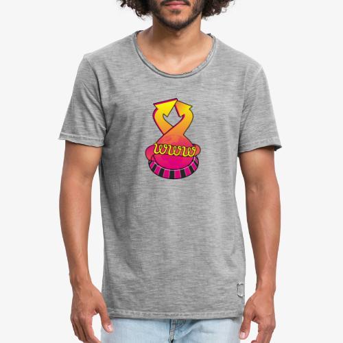 UrlRoulette logo - Men's Vintage T-Shirt