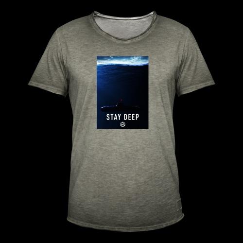 Stay Deep T-shirt - Maglietta vintage da uomo