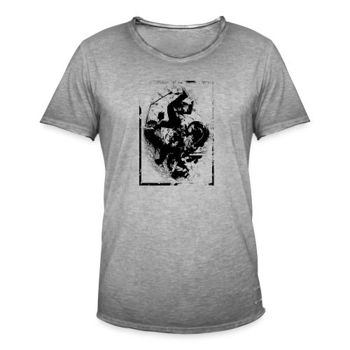 abstract4a - Men's Vintage T-Shirt