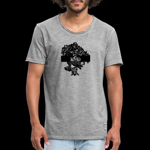 KCD Small Print - Men's Vintage T-Shirt