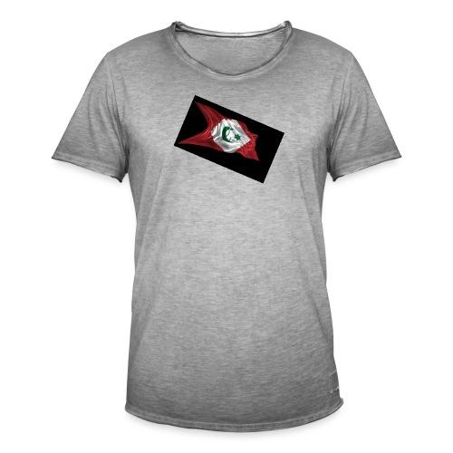 rif flag drapeau du rif de 1921 au 1927 Tamazgha.. - Mannen Vintage T-shirt