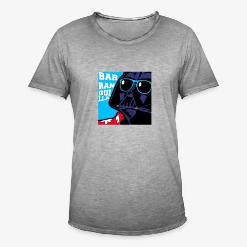 barranquilla dark vader de vacaciones2 - Camiseta vintage hombre