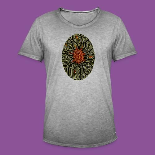 Aura 11 - Männer Vintage T-Shirt
