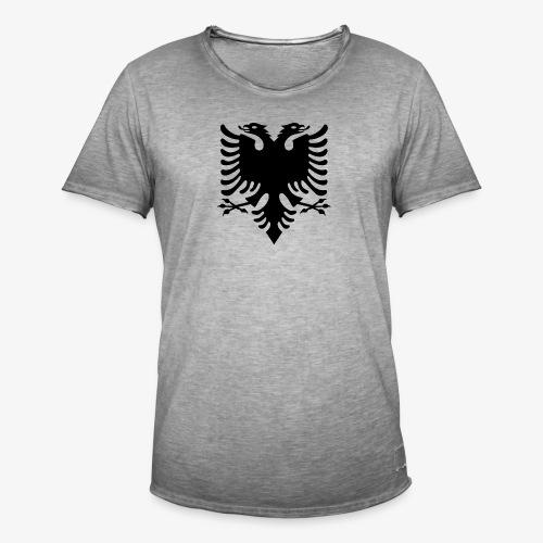 Shqiponja - das Wappen Albaniens - Männer Vintage T-Shirt