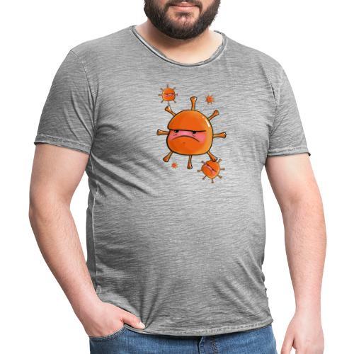 Virus - Männer Vintage T-Shirt