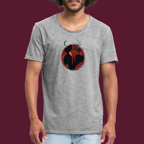 Mundo de Hadas - Camiseta vintage hombre