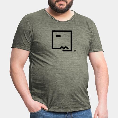 A-098 Bodo Zitrone - Männer Vintage T-Shirt