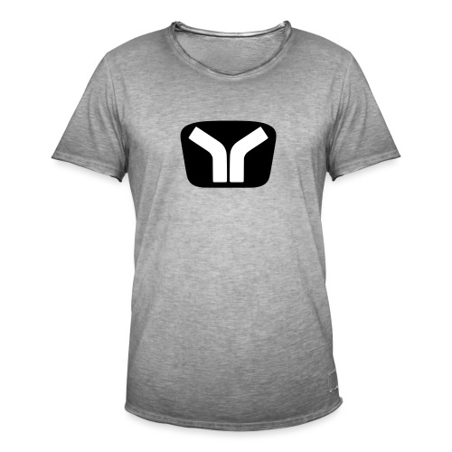 Yugo Logo Black-White Design - Men's Vintage T-Shirt